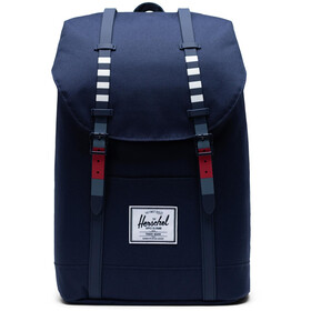 Herschel Retreat Mochila 19,5l, malibu stripe peacoat